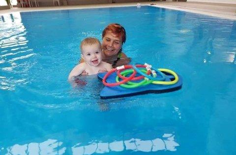5 alkalmas bérlet baba-mama úszásoktatásra