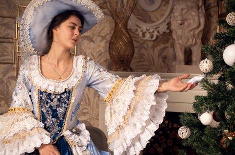 Különleges barokk ruhás fotózás