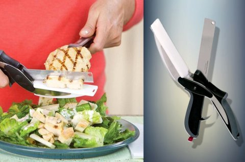 Clever Cutter konyhai olló ergonomikus markolattal