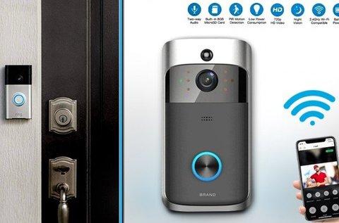 SmartHome kamerás WIFI kapucsengő
