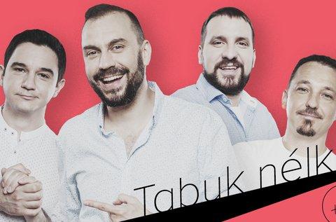 Tabuk nélkül stand up comedy a Dumaszínházban