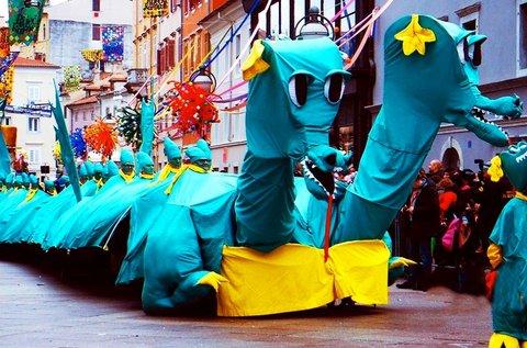 Látogass el februárban a Rijekai karneválra!