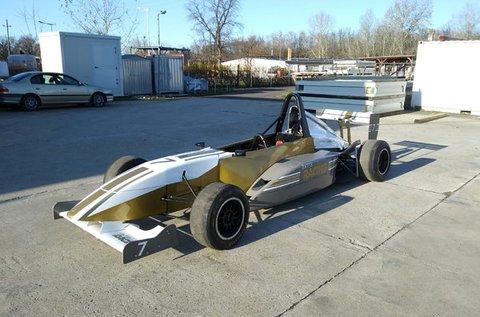 12 körös Formula Renault élményautózás Örkényben