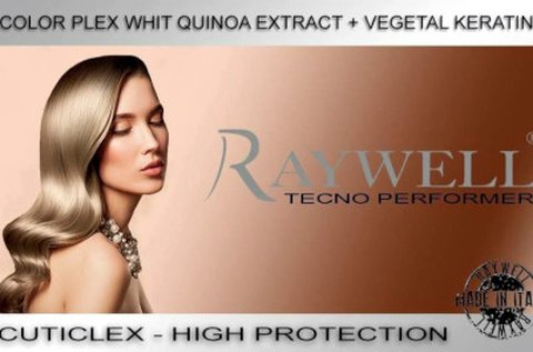 Raywell Botox Hairgold profi hajújjáépítő kezelés