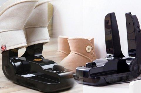 Összecsukható, elektromos cipőszárító időzítővel