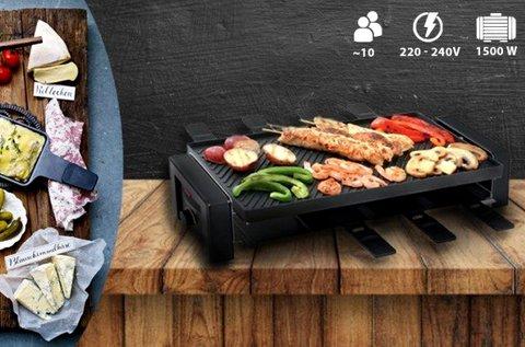 RoyalHome elektromos grill 10 személyes kivitelben