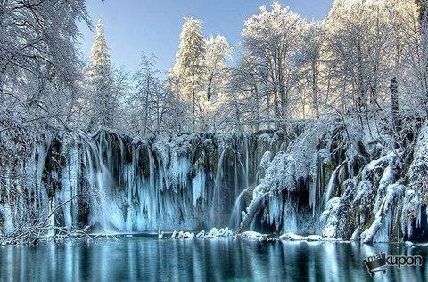 Látogass el februárban a festői Plitvicei-tavakhoz!