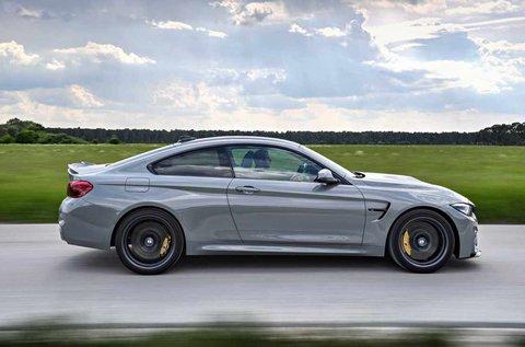 8 körös limitált kiadású BMW M4 CS vezetés