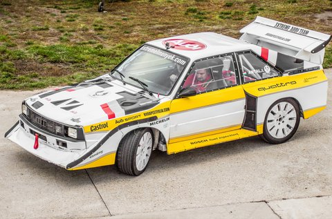 Taposs bele egy Audi S1 Group B rally legendával!
