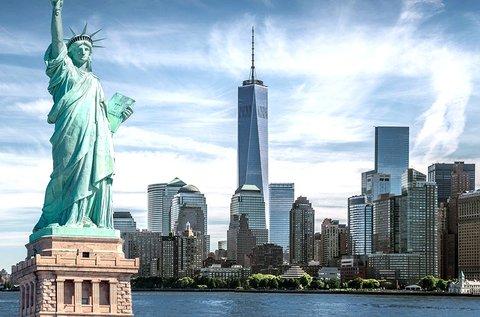 Látogatás a mindig éber New Yorkban repülővel