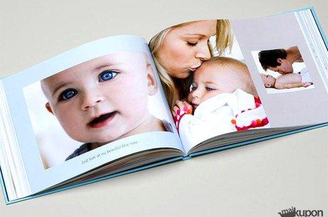 50 oldalas kemény táblás, matt fóliás fotókönyv