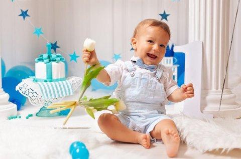 Gyermek szülinapi fotózás 3 db retusált képpel