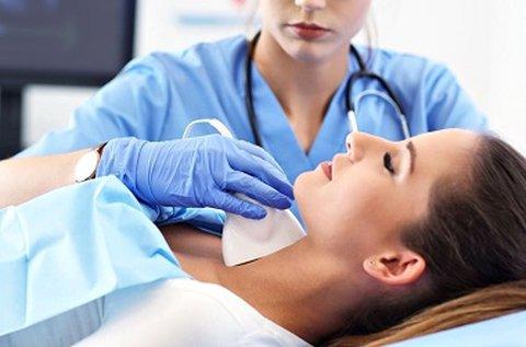 Pajzsmirigy ultrahang vizsgálat hazavihető lelettel