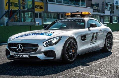 Mercedes AMG GT S vezetés Kiskunlacházán