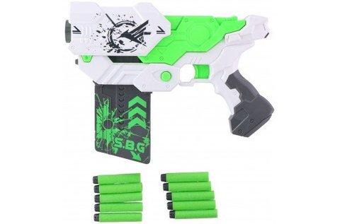 Shooting Nerf Gun pisztoly 10 db tölténnyel