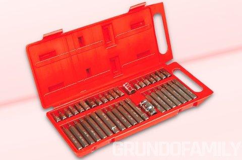 40 részes torx készlet praktikus kofferban