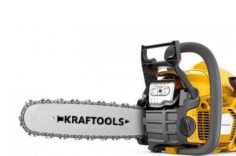 Kraftools 3,8 lóerős benzines láncfűrész
