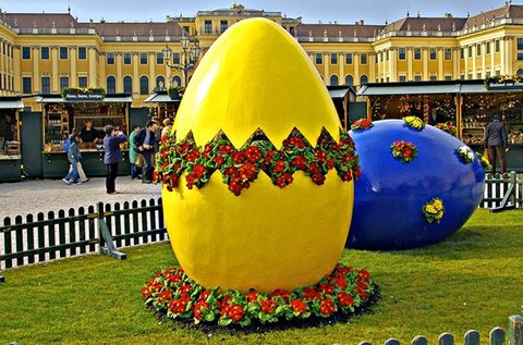 Húsvéti kiruccanás a Schönbrunni kastélyhoz