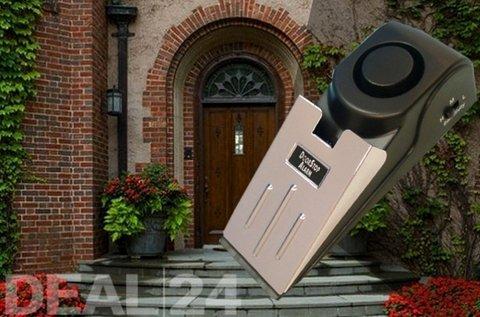 Elektronikus ajtóék ki- és bekapcsoló gombbal