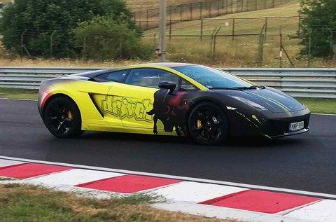 5 körös élményvezetés Lamborghini Gallardóval