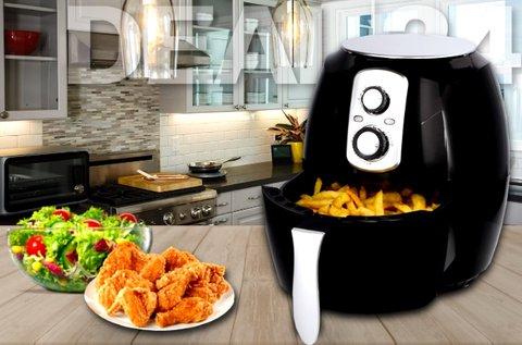 Cuisinier Deluxe olaj nélküli fritőz időzítővel