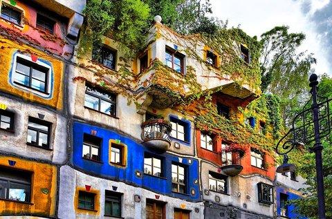 Bécsi kirándulás Hundertwasser nyomában