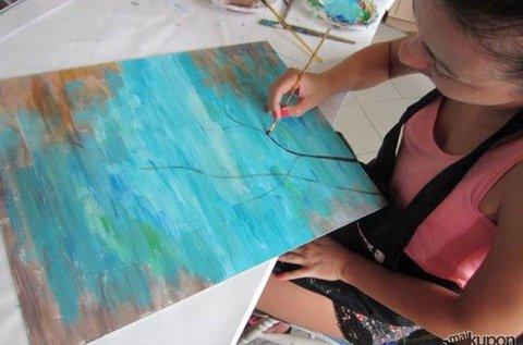 Sajátítsd el a festészet alapjait 3 órás workshopon!