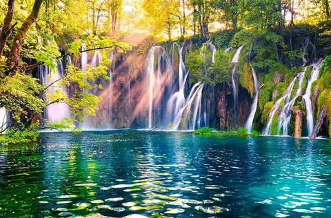 Látogass el a meseszép Plitvicei-tavakhoz!