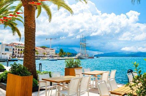 8 napos tengerparti üdülés Montenegróban