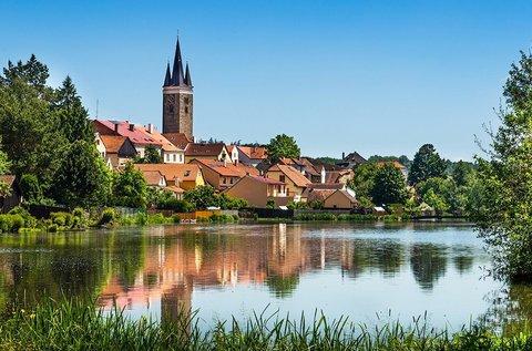 3 napos feltöltődés a cseh kisvárosban, Telcben