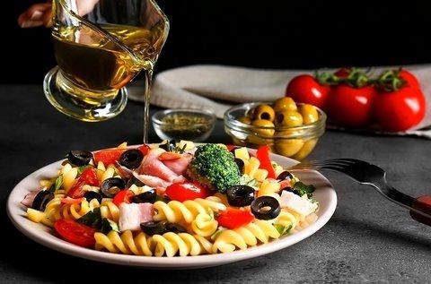 Szicíliai vacsora és főzőest bor-, olívakóstolóval