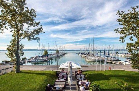 Kora nyári vagy őszi pihenés a Balaton partján