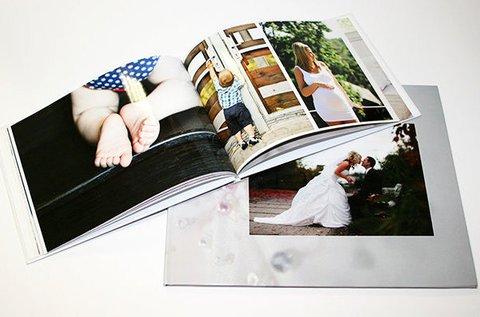 88 oldalas, kemény borítós fotókönyv készítése