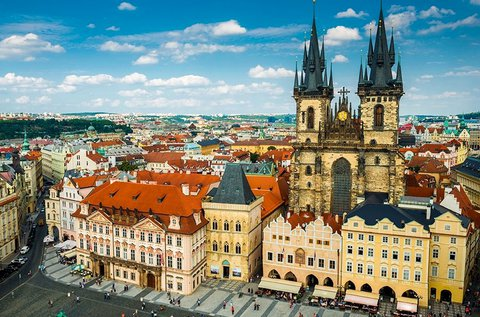 3 napos kikapcsolódás november végéig Prágában