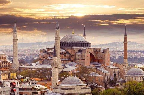 6 napos városlátogatás busszal Isztambulban