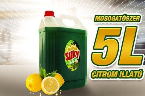 Praktikus 5 l-es kiszerelésű Silky mosogatószer