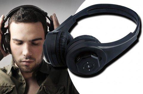 Vezeték nélküli fejhallgató MP3 lejátszóval