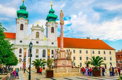 3 napos felfrissülés Győr barokk belvárosában