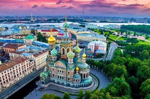 4 napos városnézés Szentpéterváron repülővel