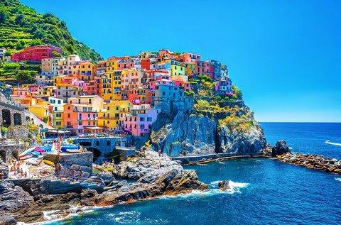 5 napos buszos körutazás a Cinque Terre vidékén