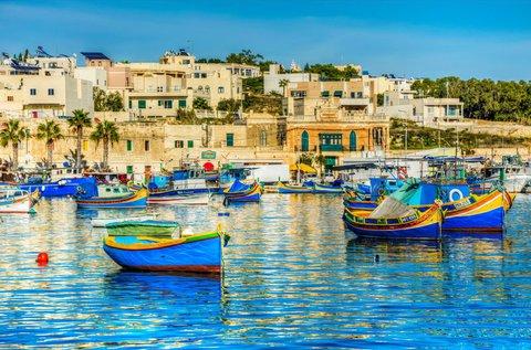 5 napos tengerparti lazítás Máltán repülővel