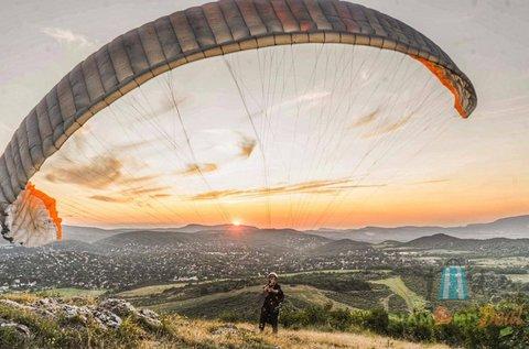 Tandem siklóernyős repülés FullHD emlékvideóval