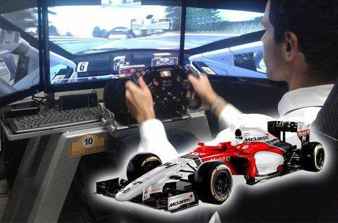 1 órás autóverseny szimulátorozás 2 főnek