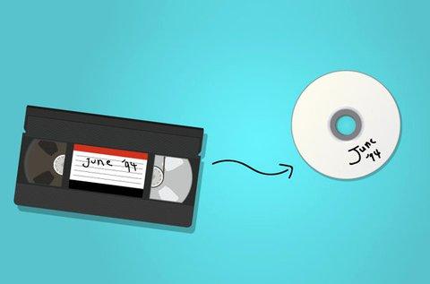 10 órányi videokazetta vagy DVD digitalizálása