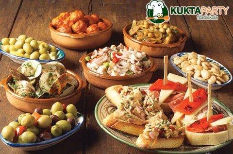 Főzőkurzus ízletes spanyol tapas variációkkal