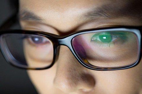 Nulla dioptriás monitorszűrő szemüveg készítése