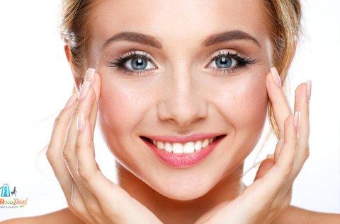 Hidratáló arckezelés hidroabrázióval