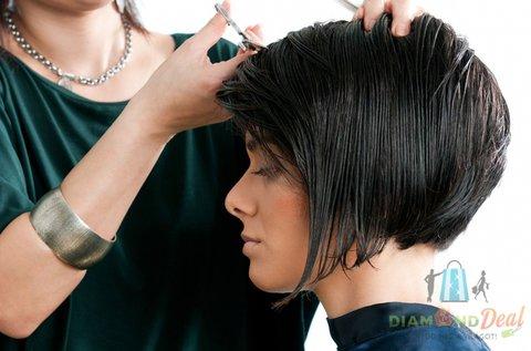 Női hajvágás keratinos vagy kaviáros pakolással
