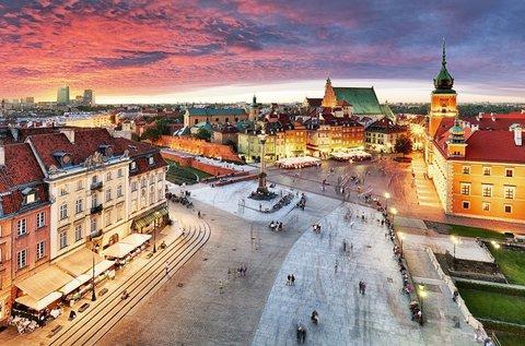 3 napos városlátogatás a családdal Varsóban