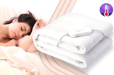 Fűthető takaró levehető kapcsolóval